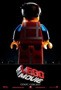 The LEGO Movie Poster SDCC 2013