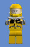 Yellow Scientist Captain