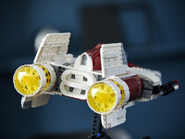 75275 Le chasseur A-wing 11