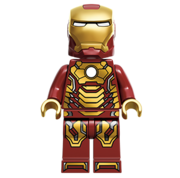 Lego Iron Man (Mark 42)