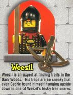 Lego Mania Weezil bio
