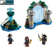 Legopirates aqua de vida