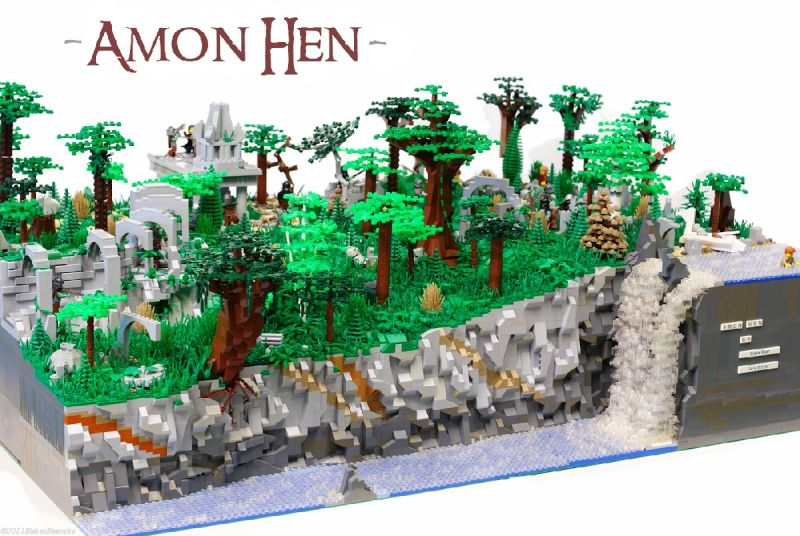 Amon Hen Lord Of The Rings Lego