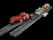 3677 Train de marchandises rouge 2