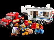 60182 Le pick-up et sa caravane