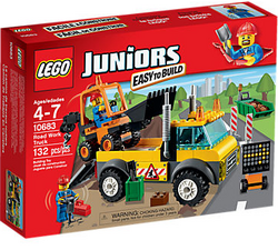 LEGO City Juniors Road Work Truck