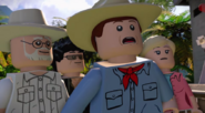 LEGO Jurassic World The Videogame John Hammond, Ian Malcolm, Alan Grant & Ellie Sattler