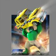 LEGO Marvel Super Heroes Render Hulk
