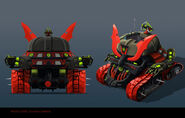 NINJAGO PROPS GarmaTron Backview 02
