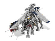 10195 Le Republic Dropship avec l'AT-OT Walker 3