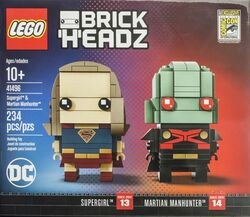41496 Supergirl & Martian Manhunter