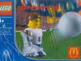 7923 White Football Player