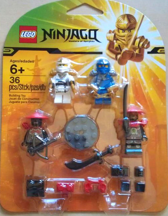 Lego Stone SCOUT Minifigure NINJAGO from set 70500 70503 70505 yellow face