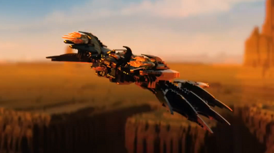 Batwing LEGO movie