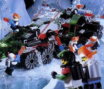 Lot of 3 1993-1994 LEGO Ice Planet Space Sets