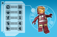 Iron man microsite