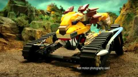 LEGO Legends of Chima - Cragger Commandship 70006
