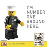 Minifigure Year by Year Promo DK 1