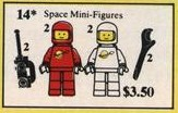 14 Space Minifigures