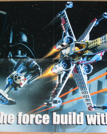 Star Wars Episode Iv Poster May The Force Build With You Brickipedia Fandom