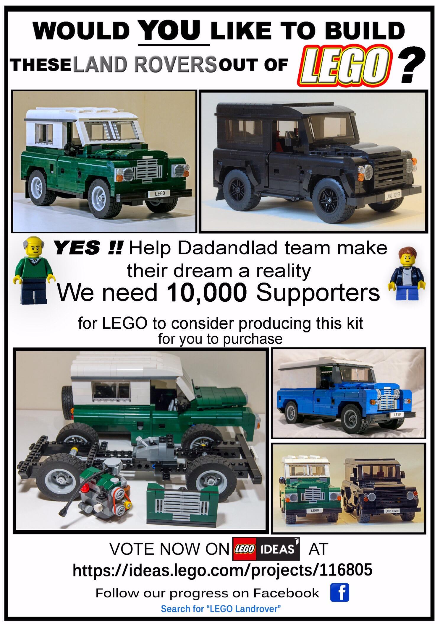 Legolandrover