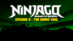 The Snake King Title Screen