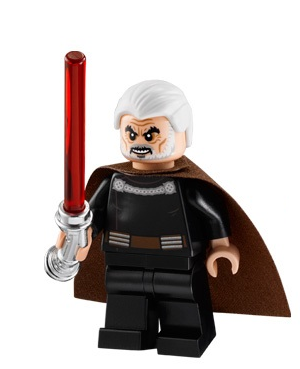 LEGO Star Wars Count Dooku Minifigure