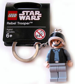 852348 Rebel Trooper Key Chain