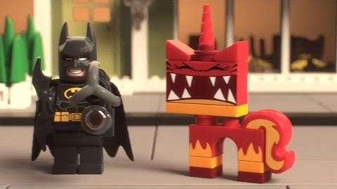 The LEGO Movie - NEW Batman & Super Angry Kitty Attack