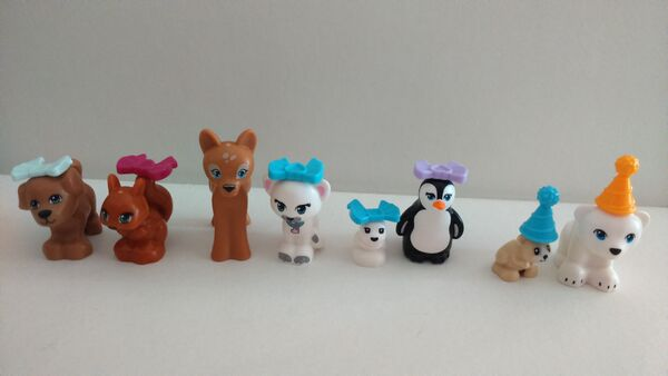 41131 Figurines animales TSQ