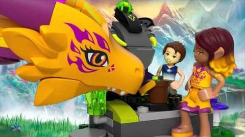 Fire Dragon's Lava Cave - LEGO Elves - 41175 - Product Animation