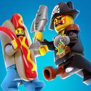 LLHU Redbeard VS Hot Dog