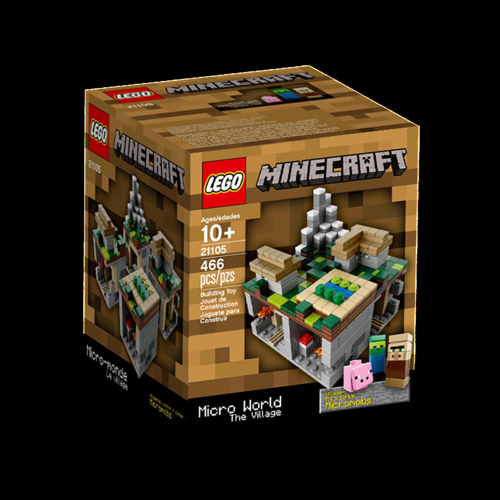 21105 The Village Brickipedia Fandom Powered By Wikia Lego 21134 Minecraft Waterfall Base