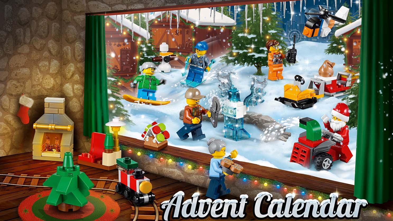 Calendrier Lego City.60155 Le Calendrier De L Avent City Wiki Lego Fandom