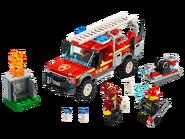 60231 Le camion du chef des pompiers