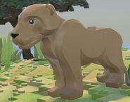 Lego Worlds Lioness