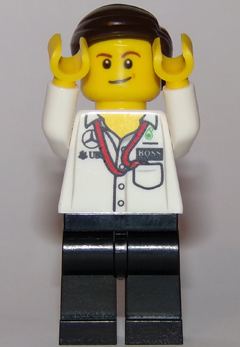 LEGO SPEED CHAMPIONS MINIFIGURE sc045 Mercedes AMG Petronas Formula One Pit Cr..