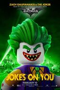 The LEGO Batman Movie Poster Personnage The Joker