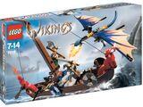7016 Viking Boat vs. Wyvern Dragon