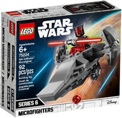75224 Sith Infiltrator Microfighter Box