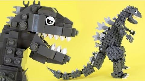How to Build LEGO Godzilla Custom LEGO Kaiju