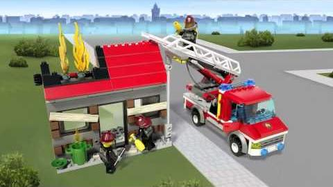 LEGO City - Fire Emergency 60003