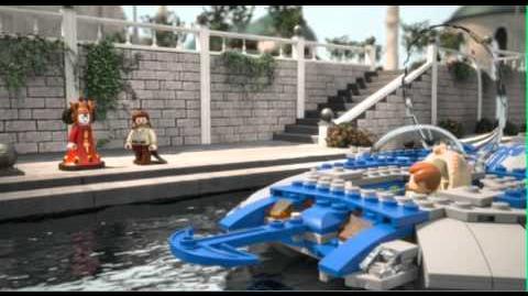 LEGO STAR WARS - Gungan Sub 9499