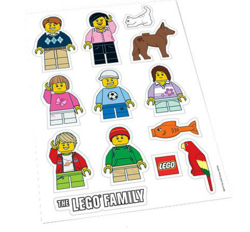 Minifigure Stickers