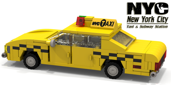NewYorker Taxi 01 - cover
