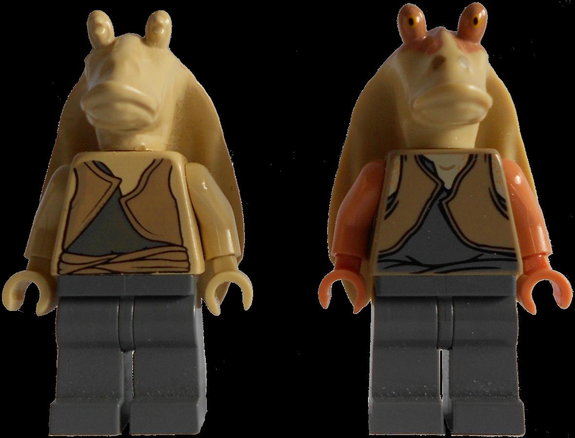 LEGO STAR WARS Minifigure JAR JAR BINKS From Sets 7171 /& 7161 **CLASSIC**