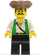George - threcorned hat brown