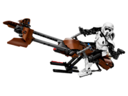 75532 Scout Trooper & Speeder Bike
