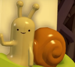 Adventure Time Snail