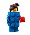 Série 18 Fille déguisée en brique LEGO